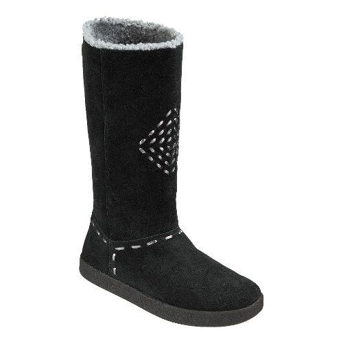 Womens Sanuk Toasty Tails Casual Shoe - Black 9.5