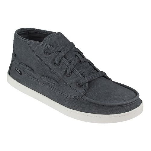 Womens Sanuk Vee K Shawn Casual Shoe - Washed Black 10