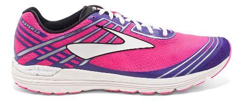 Womens Brooks Asteria Racing Shoe - Pink/Purple 6