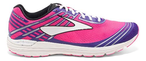 Womens Brooks Asteria Racing Shoe - Pink/Purple 7.5