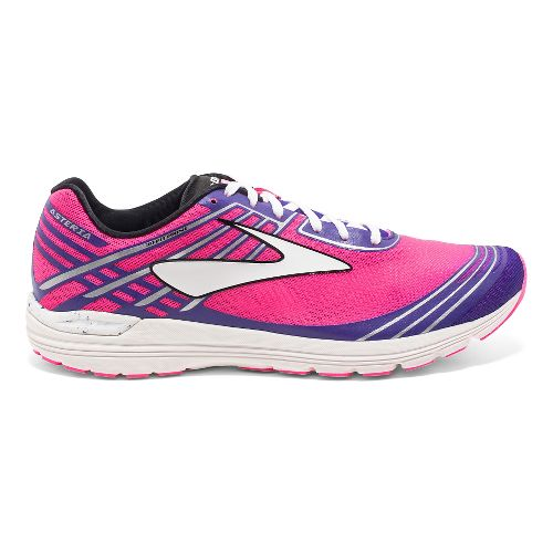 Womens Brooks Asteria Racing Shoe - Pink/Purple 7