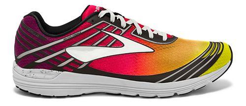 Womens Brooks Asteria Racing Shoe - Purple/Orange 8