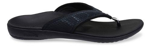 Mens Spenco Breeze Sandals Shoe - Charcoal 11