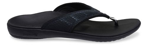 Mens Spenco Breeze Sandals Shoe - Charcoal 7
