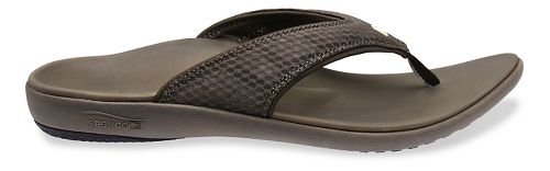 Mens Spenco Breeze Sandals Shoe - Medium Grey 14