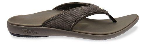 Mens Spenco Breeze Sandals Shoe - Medium Grey 7