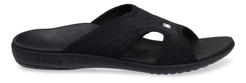 Mens Spenco Breeze Slide Sandals Shoe - Black 14