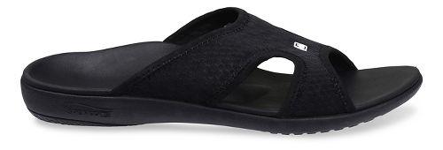 Mens Spenco Breeze Slide Sandals Shoe - Black 7