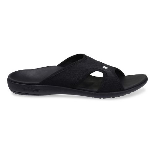 Mens Spenco Breeze Slide Sandals Shoe - Black 14