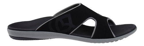 Mens Spenco Kholo Slide Sandals Shoe - Black/Grey 9