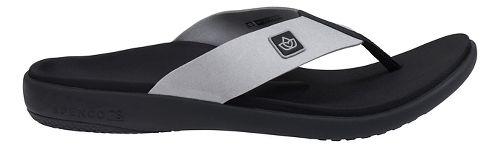 Mens Spenco Pure Sandals Shoe - Ash 7
