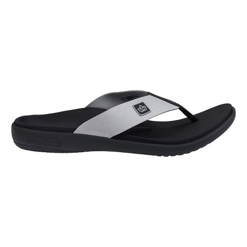 Mens Spenco Pure Sandals Shoe - Ash 9