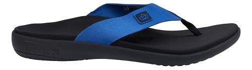 Mens Spenco Pure Sandals Shoe - True Navy 9