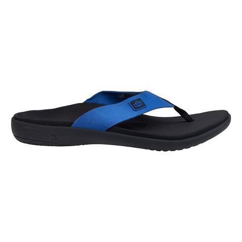 Mens Spenco Pure Sandals Shoe - True Navy 10