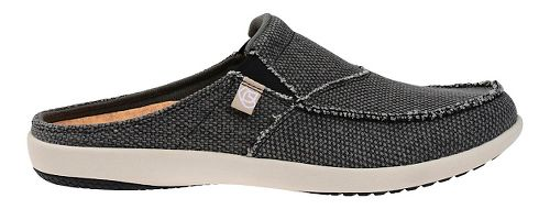 Mens Spenco Siesta Slide Casual Shoe - Charcoal 10