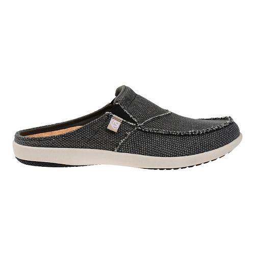 Mens Spenco Siesta Slide Casual Shoe - Charcoal 9