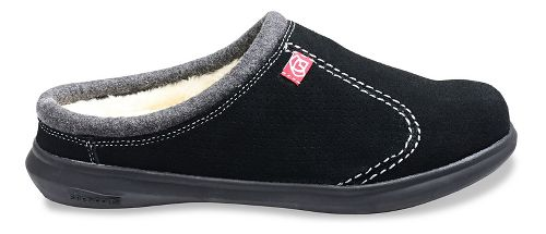 Mens Spenco Supreme Slide Casual Shoe - Black 11