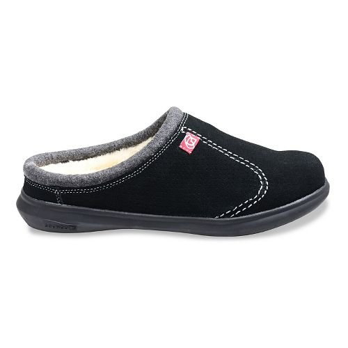 Mens Spenco Supreme Slide Casual Shoe - Black 9