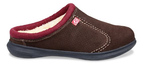 Mens Spenco Supreme Slide Casual Shoe - Chocolate 8