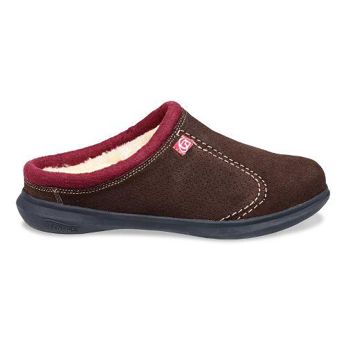 Mens Spenco Supreme Slide Casual Shoe - Chocolate 7