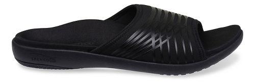 Mens Spenco Thrust Slide Sandals Shoe - Black 11