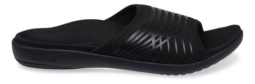 Mens Spenco Thrust Slide Sandals Shoe - Black 9