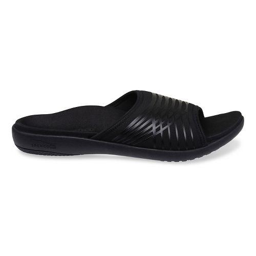 Mens Spenco Thrust Slide Sandals Shoe - Black 14