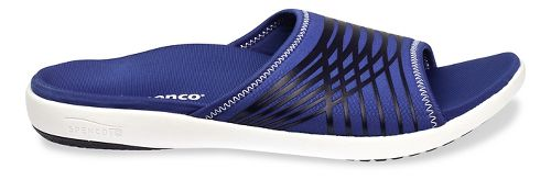Mens Spenco Thrust Slide Sandals Shoe - Navy 10