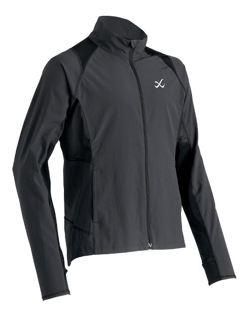 Mens CW-X Endurance Running Jackets - Charcoal Grey M