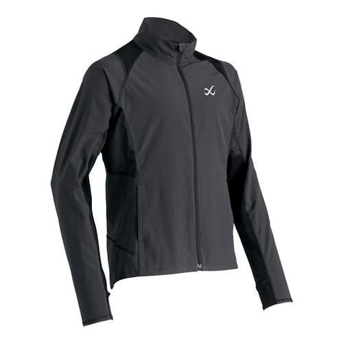 Mens CW-X Endurance Running Jackets - Charcoal Grey L