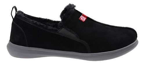 Mens Spenco Supreme Slipper Casual Shoe - Black 8