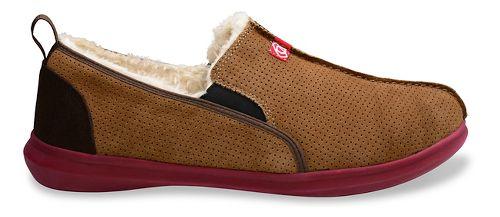 Mens Spenco Supreme Slipper Casual Shoe - Light Brown 10