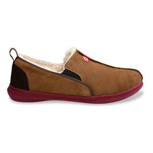 Mens Spenco Supreme Slipper Casual Shoe - Light Brown 9
