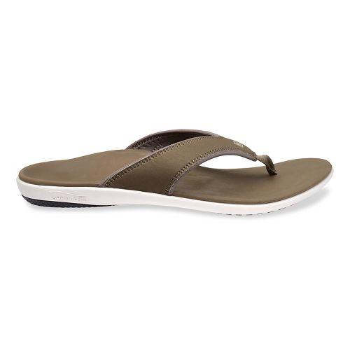 Mens Spenco Yumi Sandals Shoe - Walnut 9