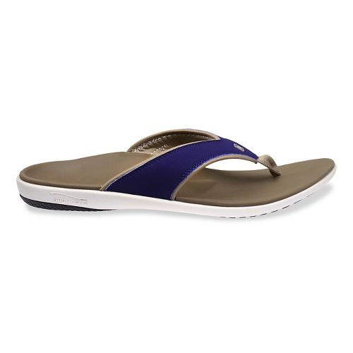 Mens Spenco Yumi Sandals Shoe - Royal Blue 8