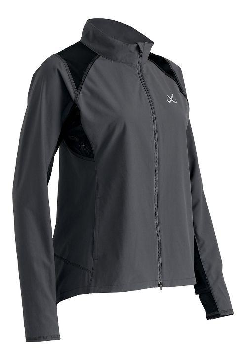 Womens CW-X Endurance Running Jackets - Charcoal Grey S