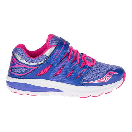 Saucony Zealot 2 A/C Running Shoe - Periwinkle/Pink 3Y
