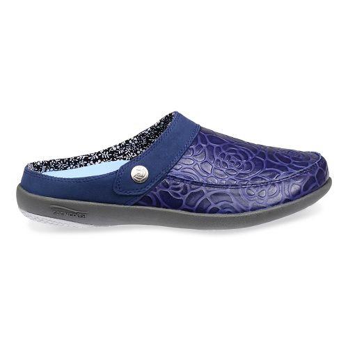 Womens Spenco Alicia Slide Casual Shoe - Navy 10