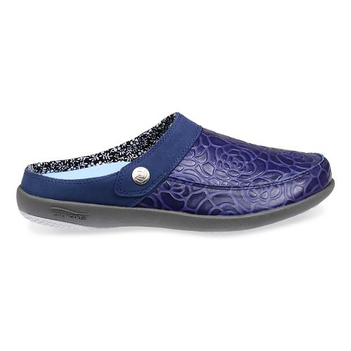 Womens Spenco Alicia Slide Casual Shoe - Navy 6