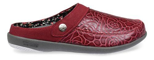 Womens Spenco Alicia Slide Casual Shoe - Wine 10