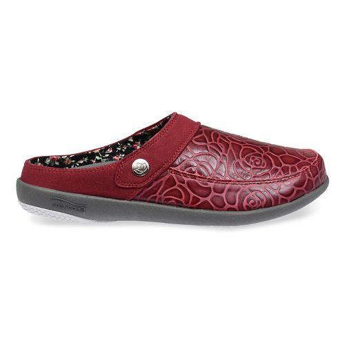 Womens Spenco Alicia Slide Casual Shoe - Wine 8