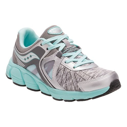 Saucony Kotaro 3 Running Shoe - Silver/Turquoise 2.5Y