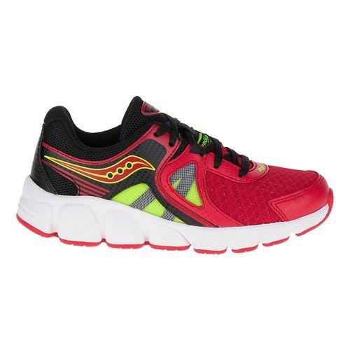 Kids Saucony Kotaro 3 Preschool Running Shoe - Red/Citron 11C