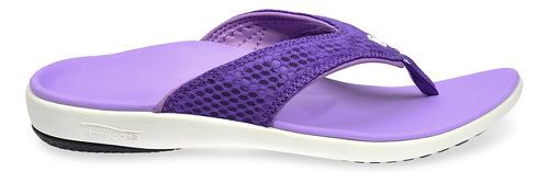 Womens Spenco Breeze Sandals Shoe - Purple 11