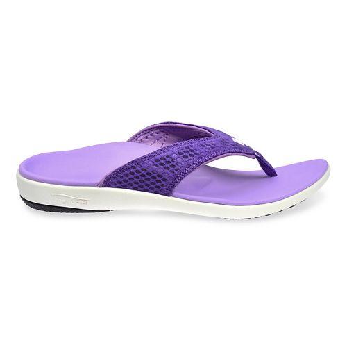 Womens Spenco Breeze Sandals Shoe - Purple 5