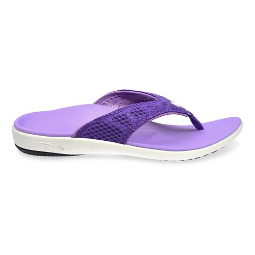 Womens Spenco Breeze Sandals Shoe - Purple 8