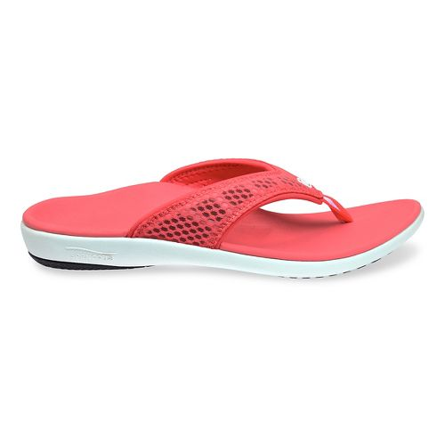 Womens Spenco Breeze Sandals Shoe - Watermelon 9