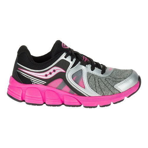 Kids Saucony Kotaro 3 Gradeschool Running Shoe - Silver/Pink 5Y