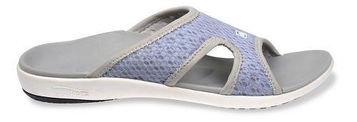 Womens Spenco Breeze Slide Sandals Shoe - Slate Blue 6
