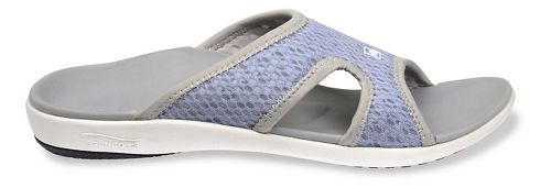 Womens Spenco Breeze Slide Sandals Shoe - Slate Blue 8